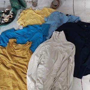 💛💙Yellow  blue  t Shirt lot bundle💙💛